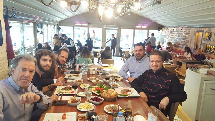 Epsilon-Omikron family get together again to discuss further oppurtunities and taste wonderful Turkish