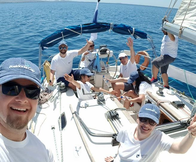 It was a wonderfull experience racing with the Epsilon – Omikron team at Posidonia…